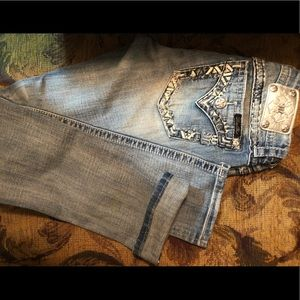 Miss me jeans size 29 straight legged
